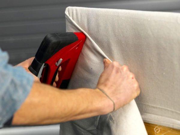 Изготовление мягкого изголовья для кровати