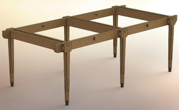каркас стола для пинг-понга