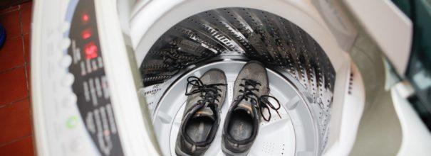 кеды в стиральной машинке