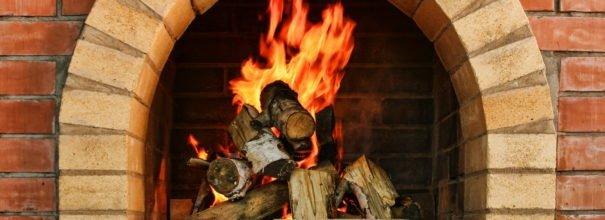 Кирпичная печь с дровами