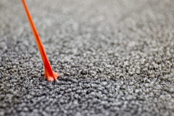 Жевательная резинка на ковре