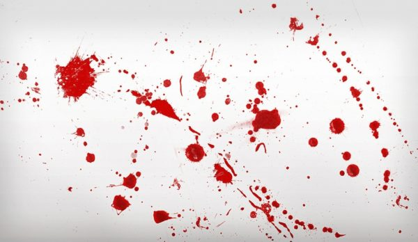 Кровь на потолке