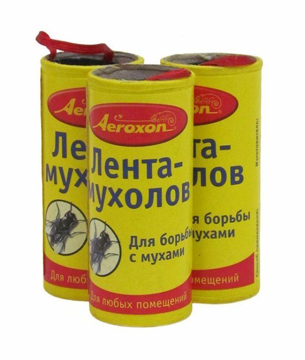 Липкая лента для ловли насекомых
