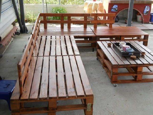 мебельный гарнитур для сада