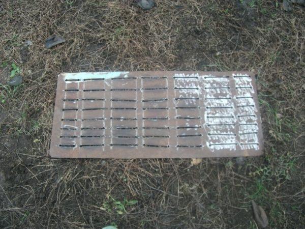 Перфорация днища мангала