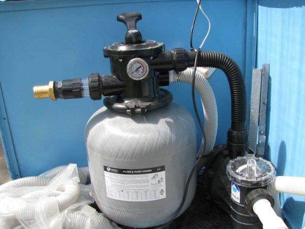 Песочный фильтр-насос от фирмы Intex