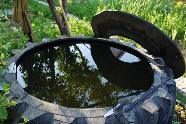 Покрышка для небольшого бассейна