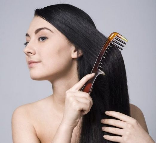 Расчёсываем волосы
