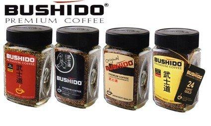 Растворимый кофе Bushido