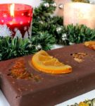 Шоколадно-апельсиновый туррон