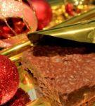 Шоколадный туррон с фундуком