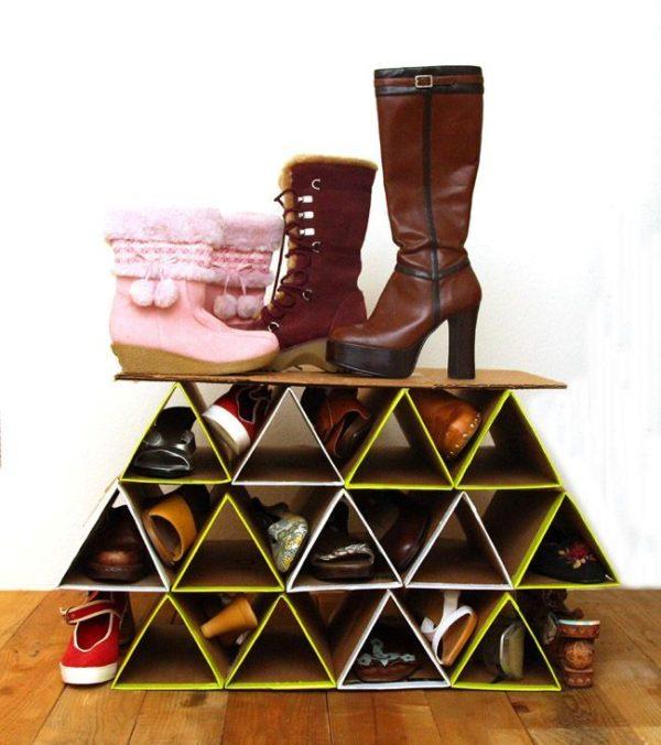 Стеллаж «Треугольник»