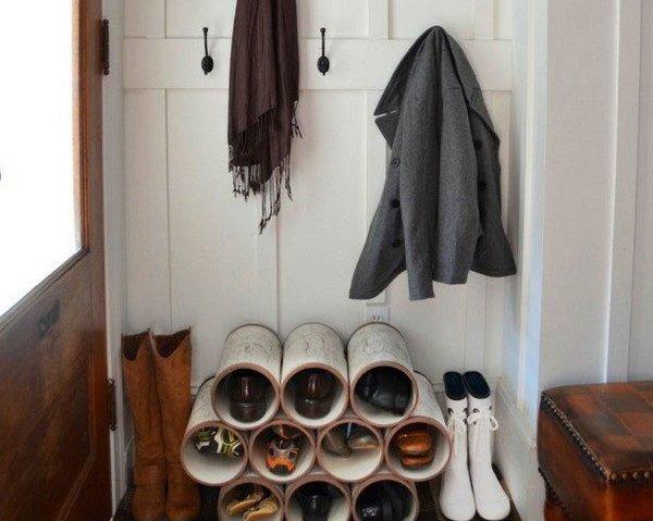 Стеллаж для обуви «Поленница»