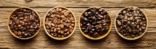 Степени обжарки кофейных зёрен