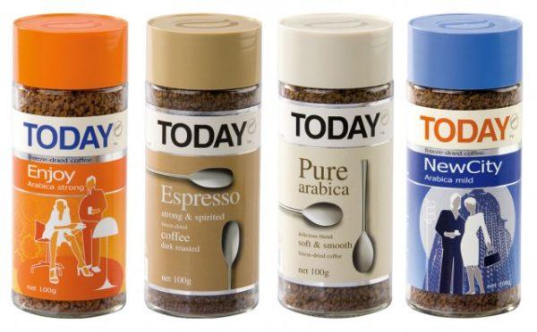Today — растворимый кофе