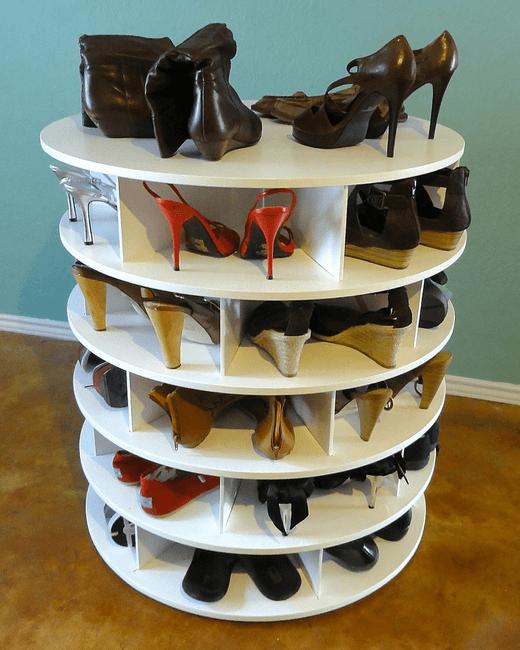 Подставка для туфель своими руками 18