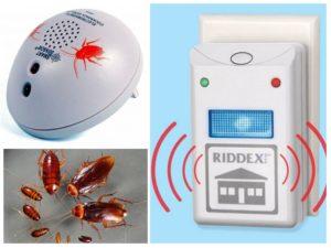 ультразвук против тараканов
