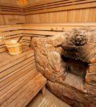 Оригинальная отделка натуральным камнем