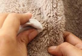 Чистка меховых изделий от пота