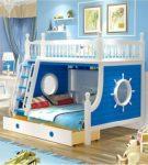 Комбинированная двухъярусная кровать