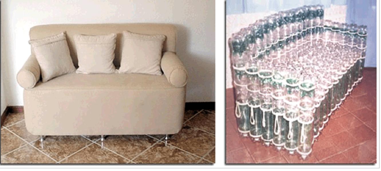 Мебель из пластиковых бутылок своими руками пошагово 21