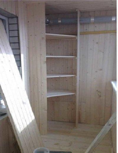 Изготовление углового шкафа