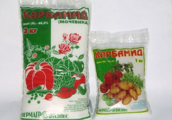 Карбамид — азотсодержащее удобрение