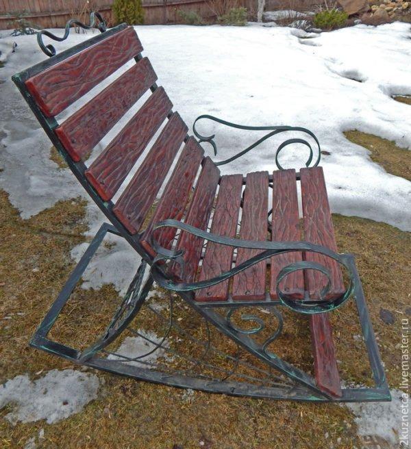 Кресло-качалка сделать своими руками из металла 122