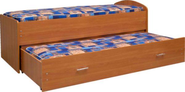 Кровать двухъярусная выдвижная