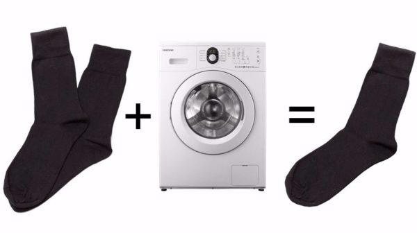 Носки и стиральная машина