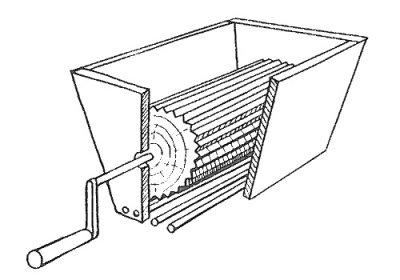 Мельница для шишек керового ореха