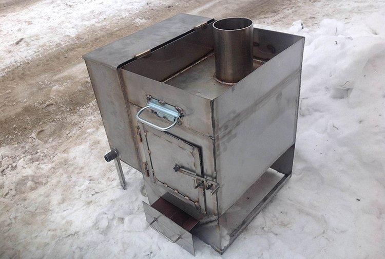 Печь для бани металлическая изготовление своими руками