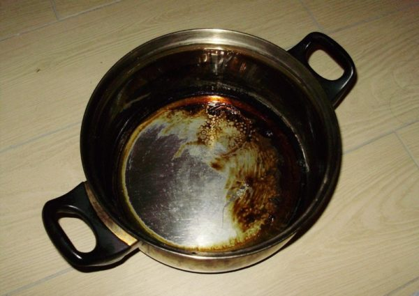 Burnt Pan