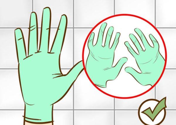 Защита рук с помощью перчаток