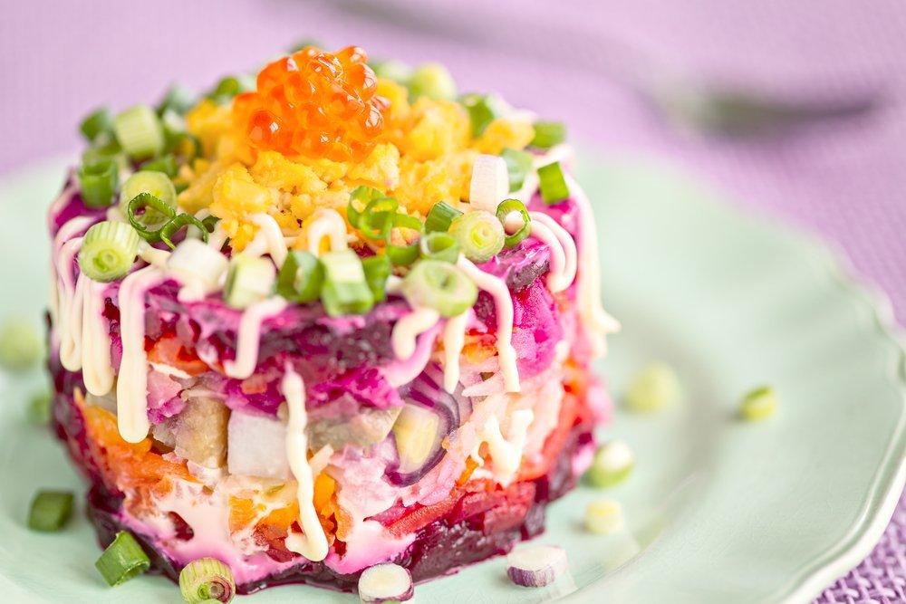 Салат сельдь под шубой пошаговый рецепт оригинальный