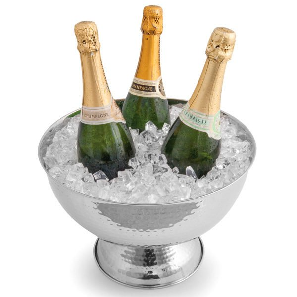Champagne in the cooler
