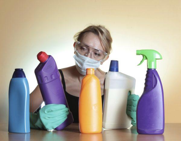 Средства защиты при работе с опасными для здоровья химическими веществами