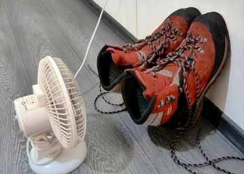 Сушка вентилятором