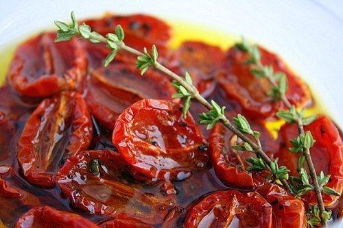 Вяленые в микроволновке томаты