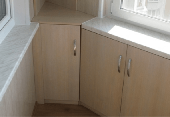 Как сделать шкаф на балкон (лоджию) своими руками: пошаговая.