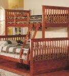 Классическая комбинированная двухъярусная кровать
