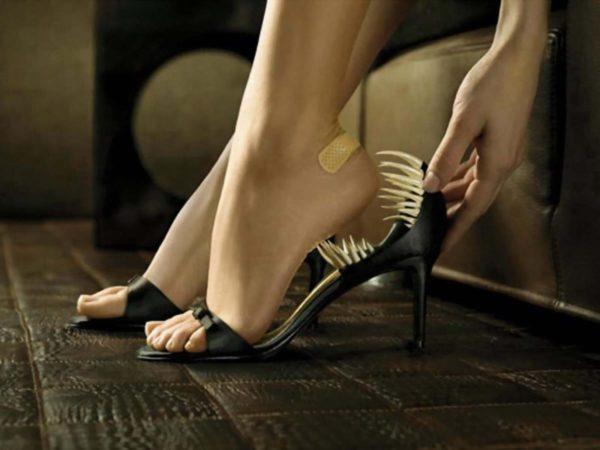 Жёсткая обувь