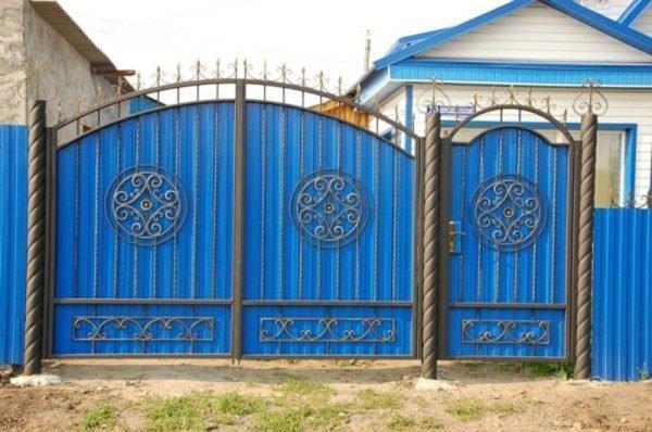 Комбинированные ворота
