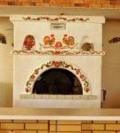 Декор печи