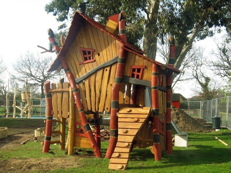 Детские площадки из дерева своими руками фото схемы 705