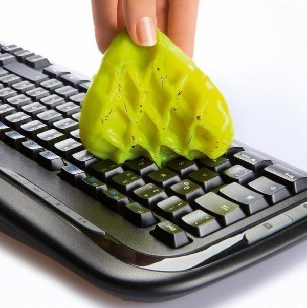 Гель Лизун для очистки клавиатуры