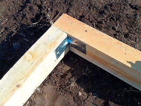 Соединение деревянных элементов каркаса