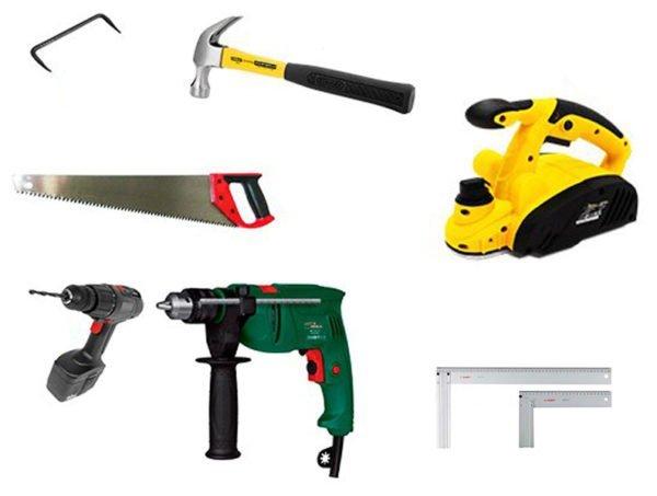 Инструменты для изготовления пола в парной