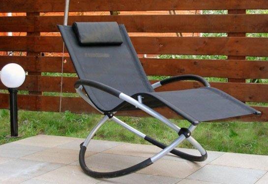 Кресло -качалка на металлических обручах