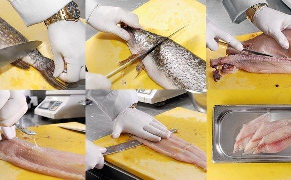 Снять замороженную рыбу